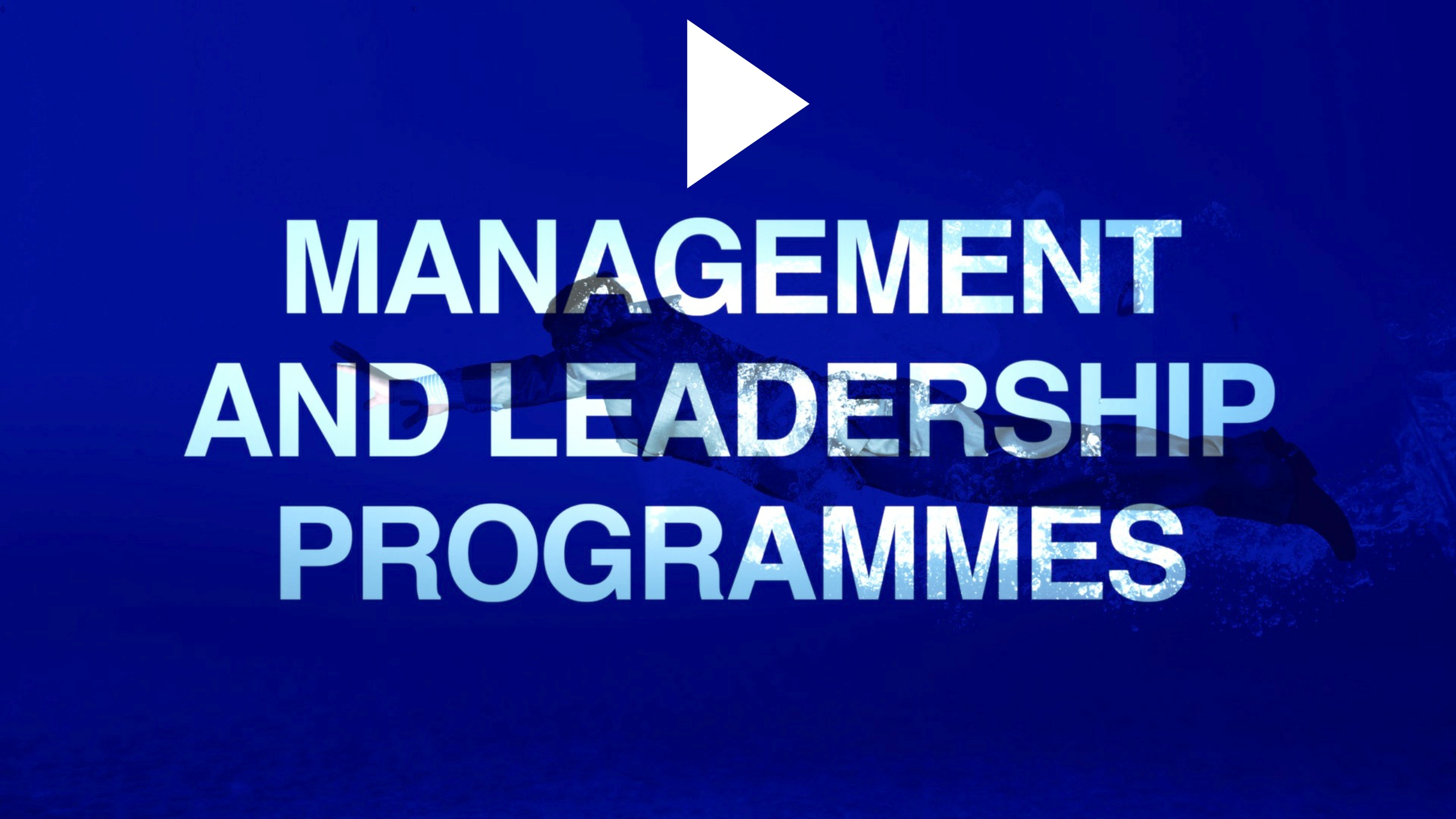 Management and leadership workshops and programmes